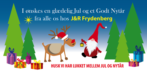 glædelig jul, husk at vi har lukket mellem jul og nytår